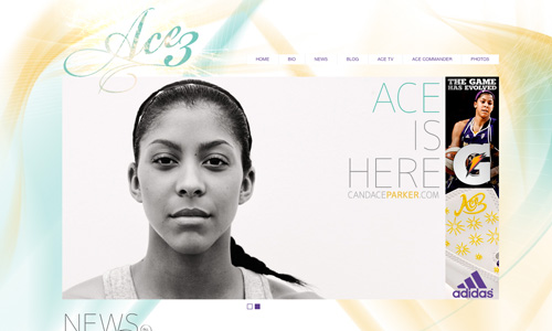 Athlete Website