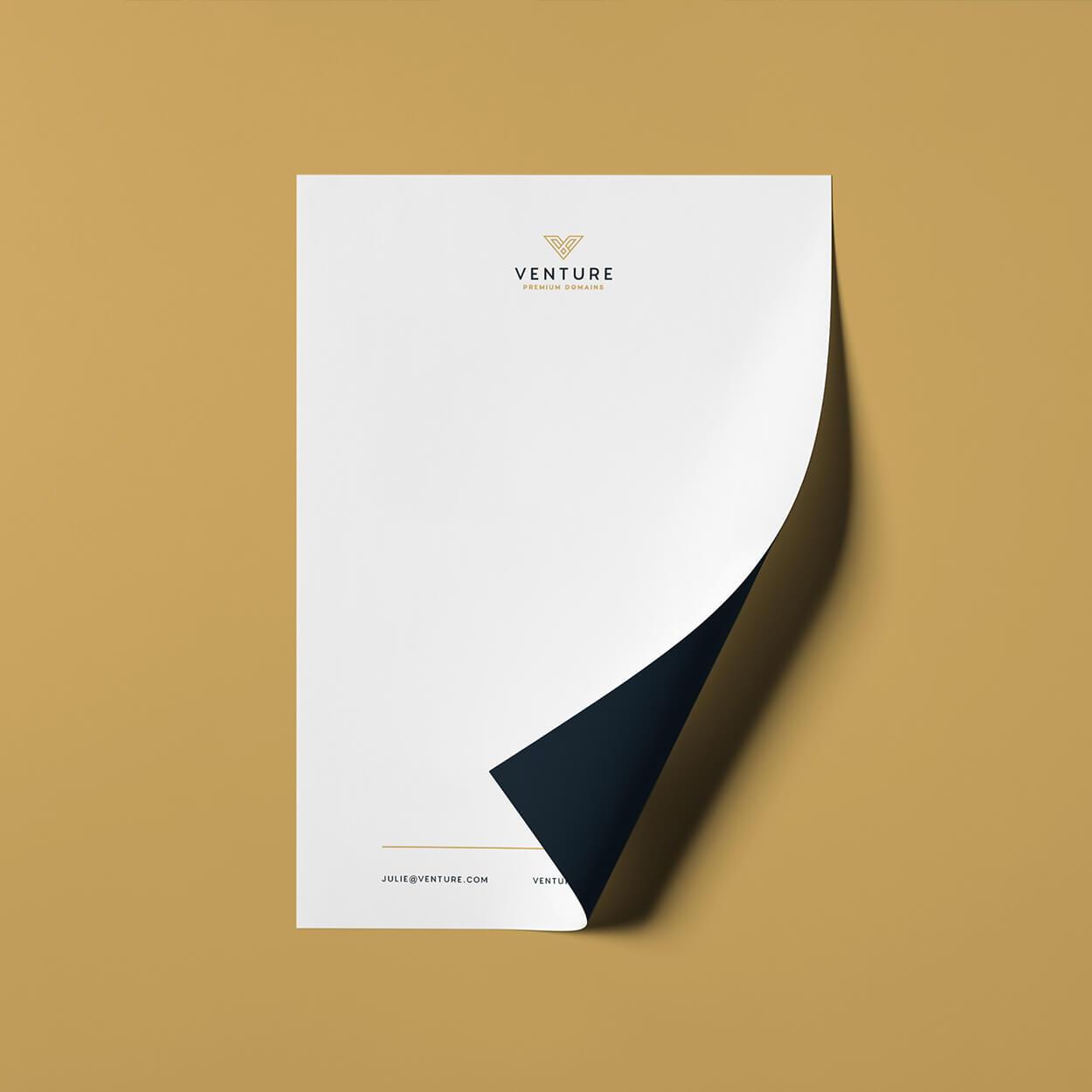 venture-letterhead
